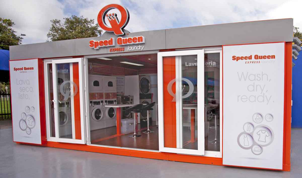 Speed Queen Coin Laundry Store Packages Export Only